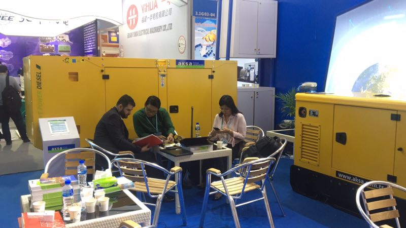 Aksa with the 124th Canton Fair